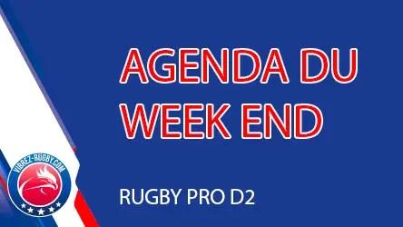 Rugby Pro D2 : coup d'oeil sur les rencontres à venir et le classement.