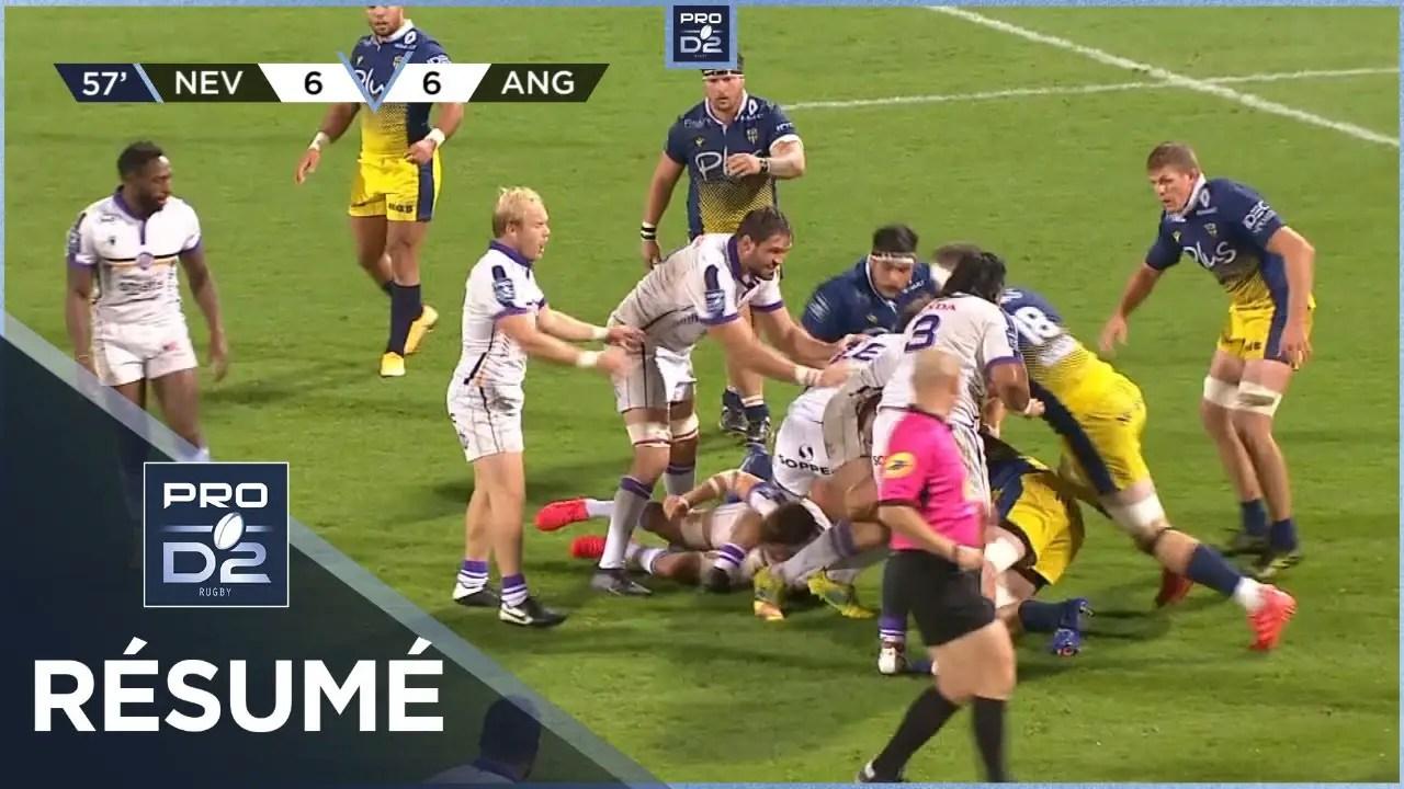 Rugby Pro D2 : PRO D2 – Résumé USON Nevers-SA XV Charente: 25-12 – J4 – Saison 2020/2021