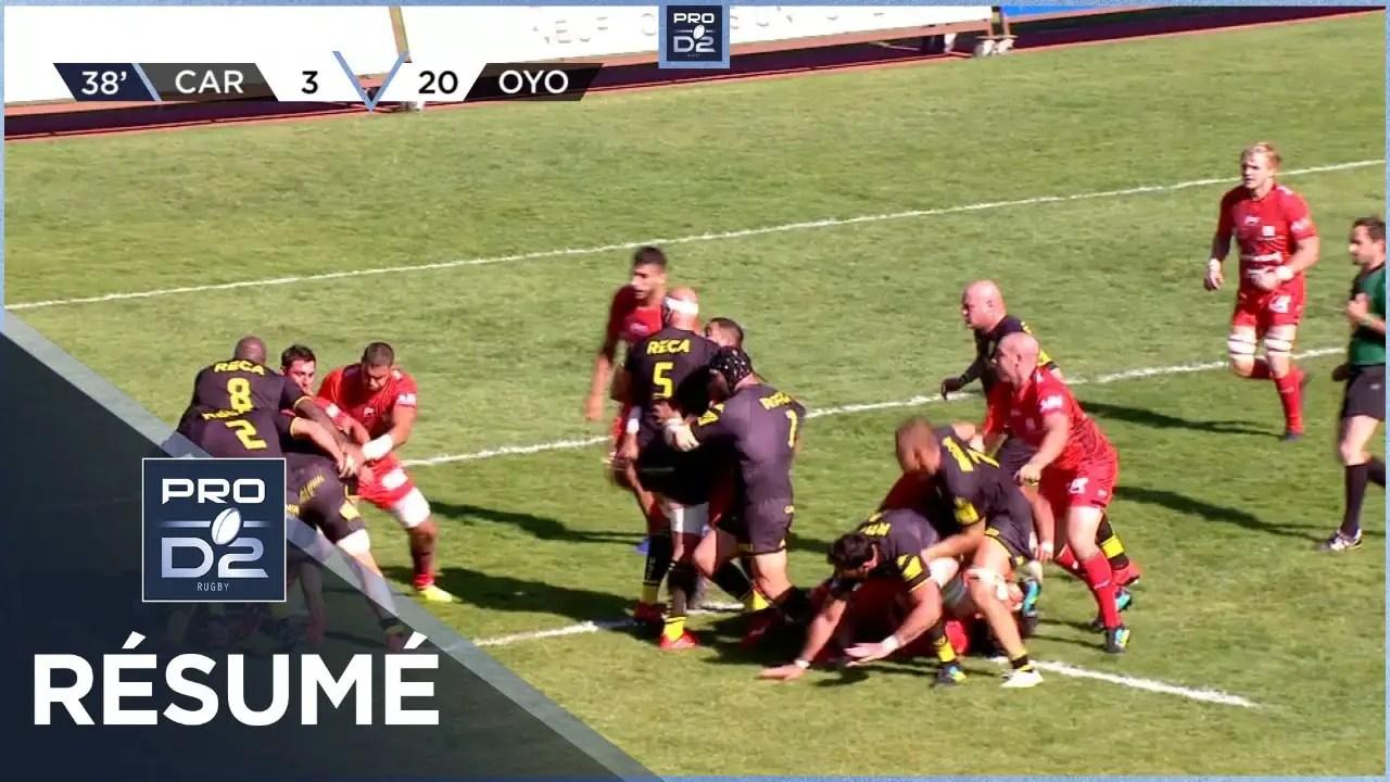 Rugby Pro D2 🎥  : Résumé US Carcassonne-Oyonnax Rugby: 27-30 – J2 – Saison 2020/2021