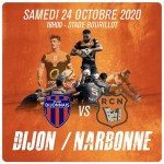 Rugby Nationale : Changement d'horaire pour Dijon / Narbonne
