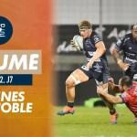 Rugby Pro D2 ( 🎥 Canal + ) : Le résumé de Vannes / Grenoble