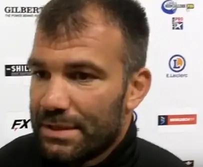 """Rugby-Nationale, Arnaud MIGNARDI (Dax) : """"Rien à enlever à l'état d'esprit de l'équipe"""" (J4)"""