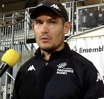 """Rugby-ProD2,  Fabien CIBRAY (Provence-Rugby) """" ce serait une énorme erreur que de penser à autre chose qu'à Biarritz qui arrive !"""" (J11)"""