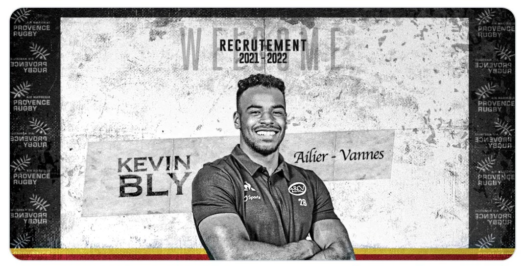 Rugby Pro D2 ( Provence Rugby ) : Kevin Bly s'engage pour les deux prochaines saisons !