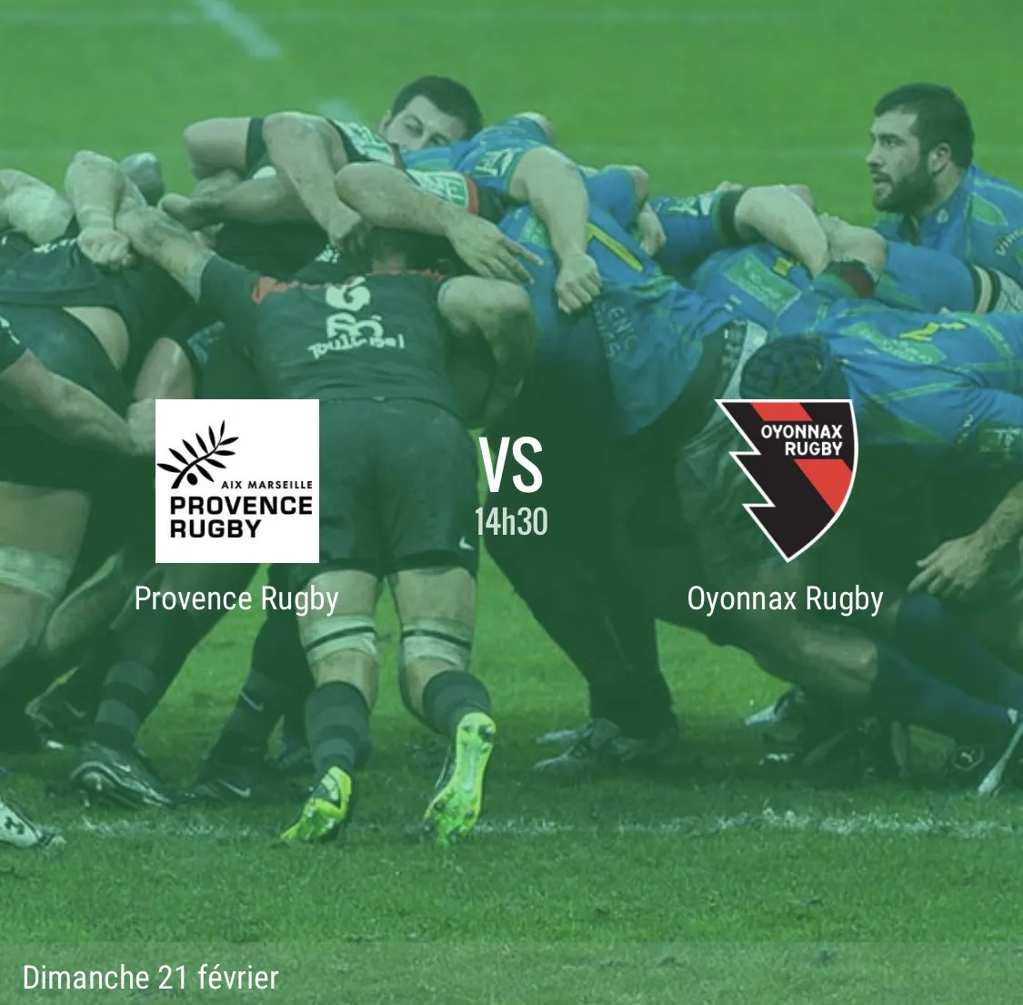 Rugby Pro D2 : Provence Rugby – Oyonnax en direct