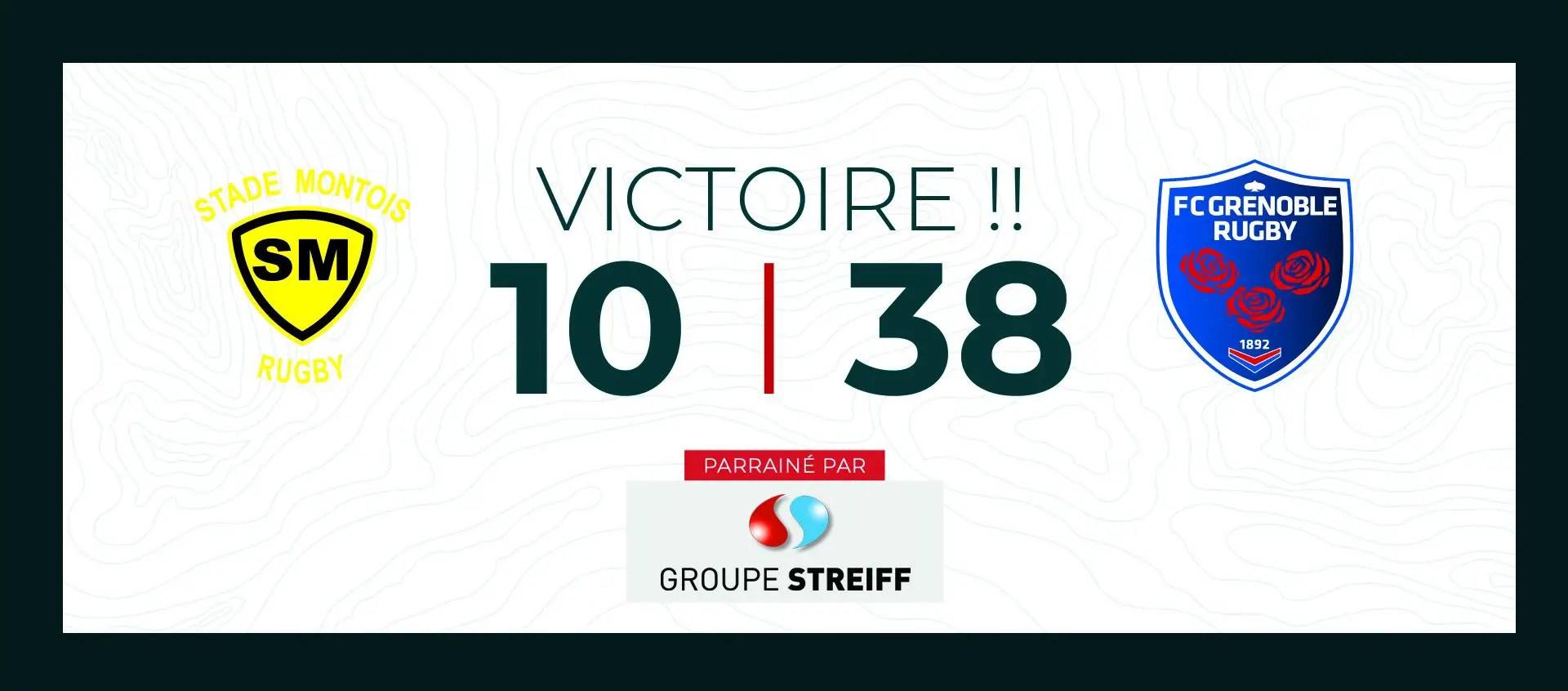 Pro D2/Grenoble : La confirmation