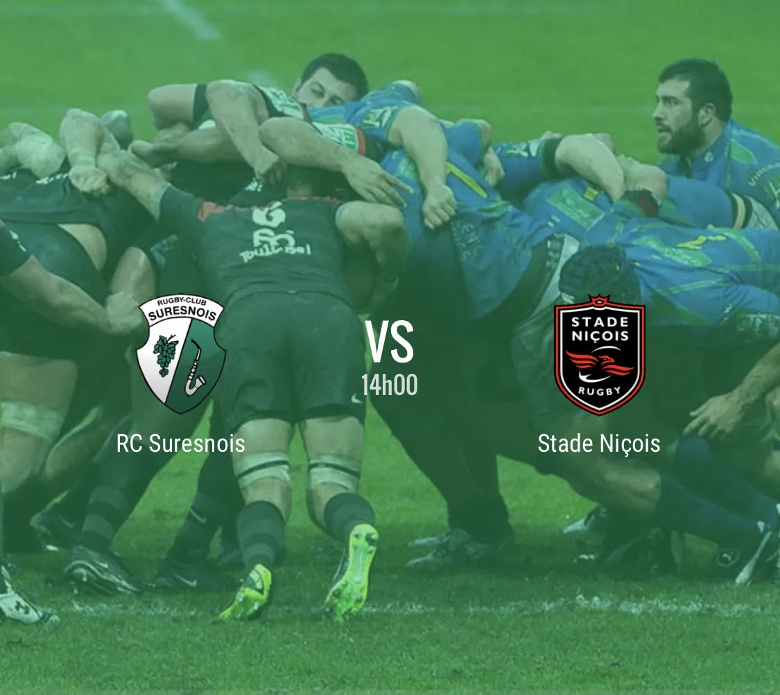 Rugby Nationale : Suresnes – Nice ( 11- 48 )