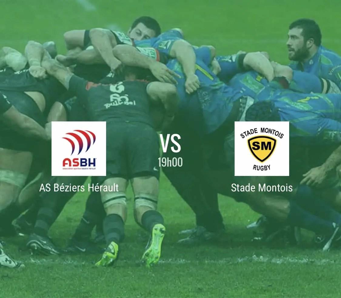 Rugby Pro D2 : Béziers – Mont de Marsan en direct