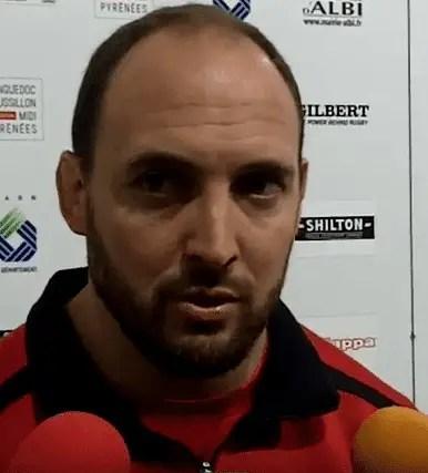 """Rugby-Nationale, Mathieu BONELLO (Albi) : """"Apprendre à suer, à travailler et se rappeler de l'histoire du club"""""""