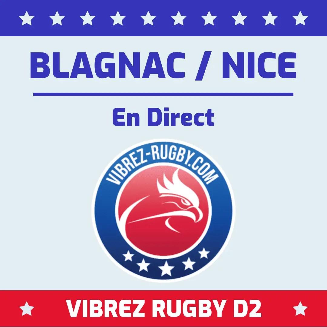 Blagnac Nice en direct