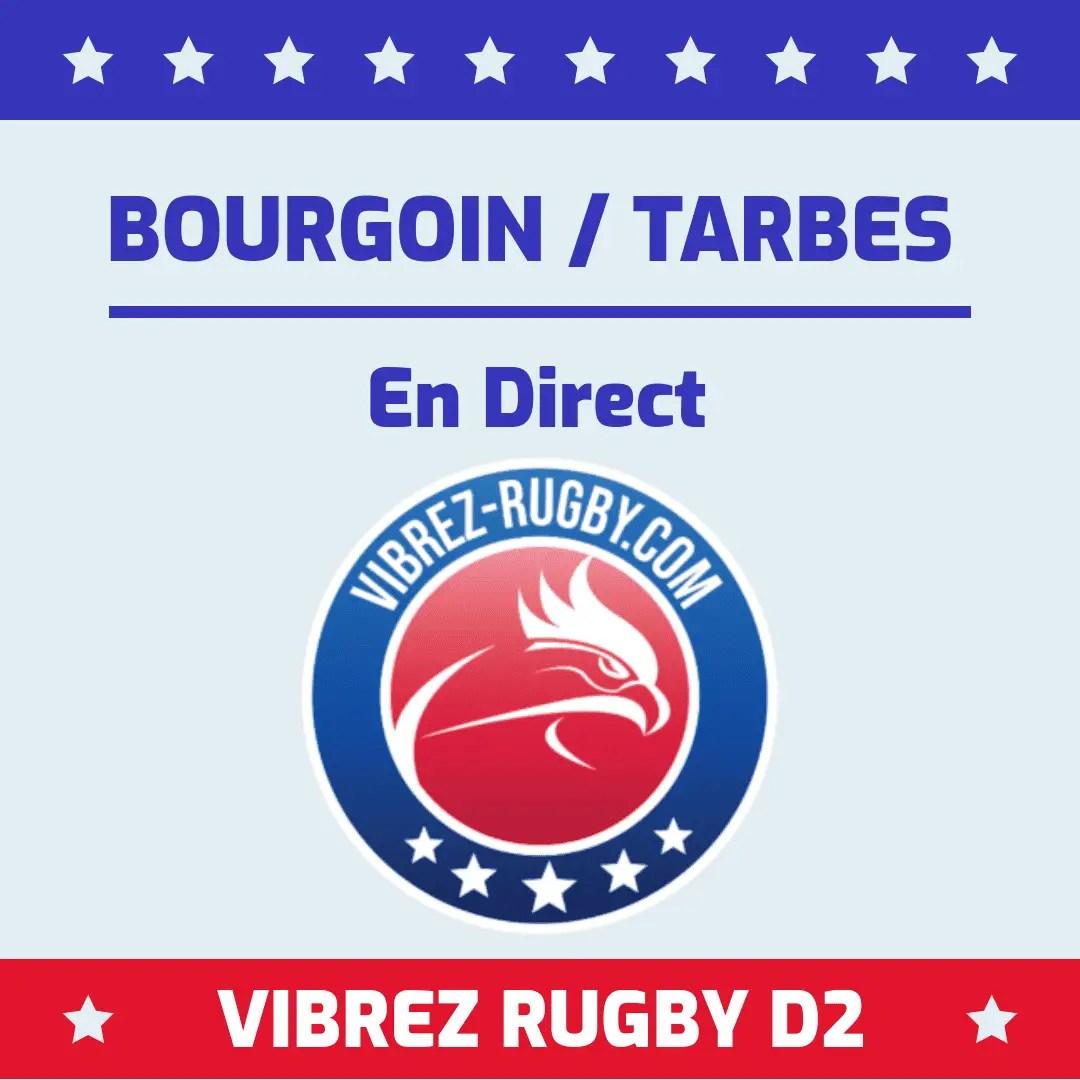 Bourgoin Tarbes en direct