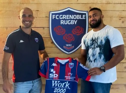 Pro D2 ( Grenoble ) : Signature de Pio Muarua