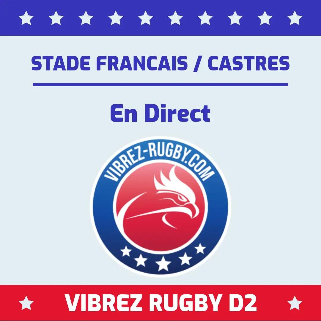 Stade Français Castres en direct