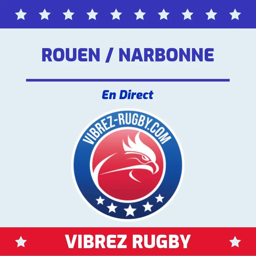 Rouen Narbonne en direct
