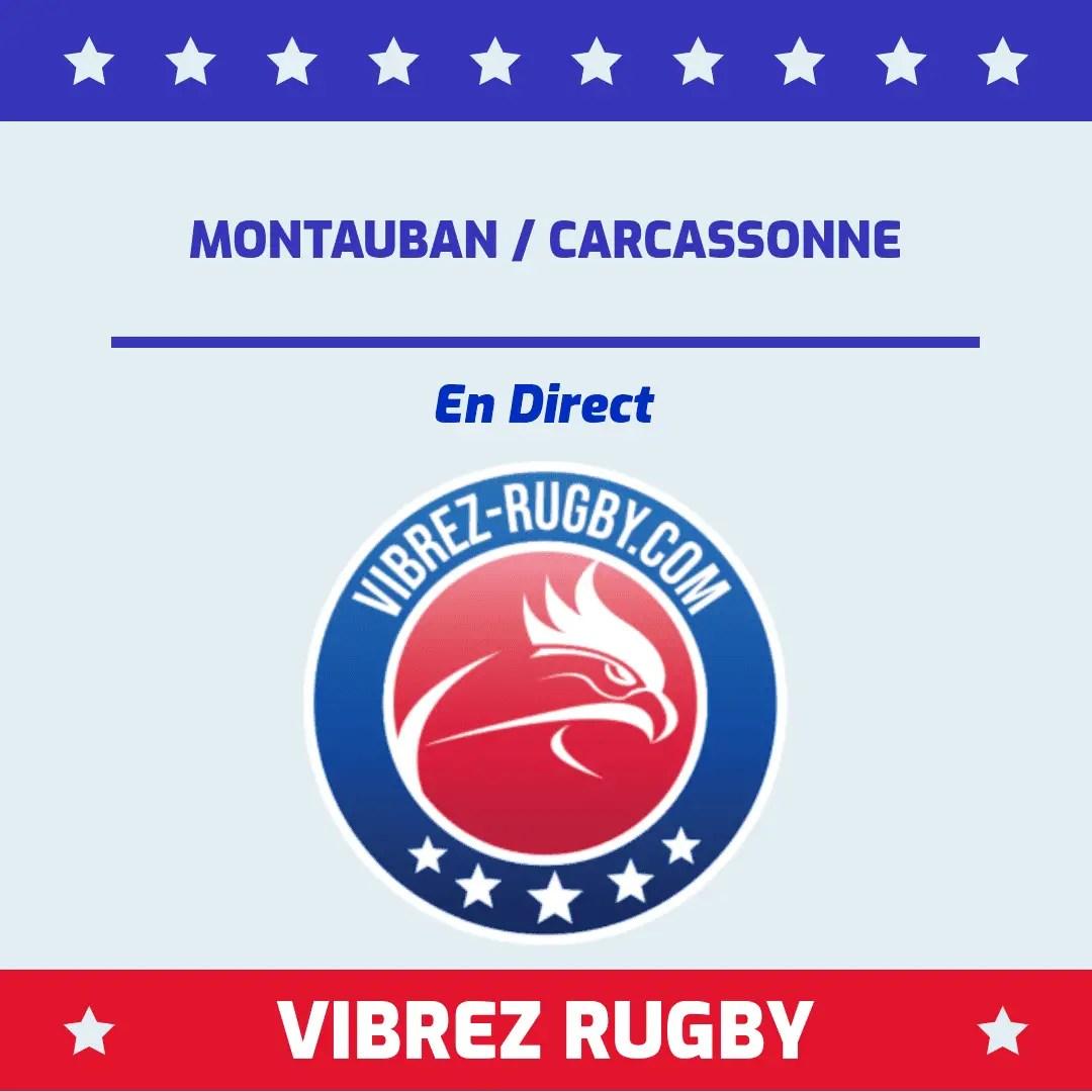 Montauban Carcassonne en direct