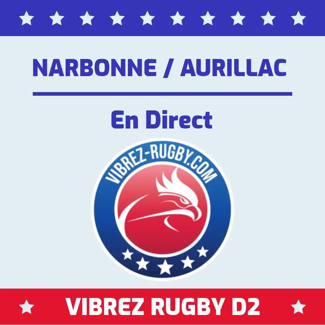 Narbonne Aurillac en direct