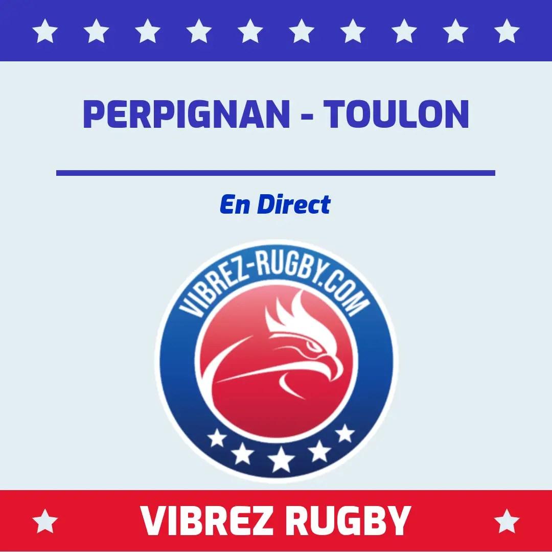 Perpignan Toulon en direct