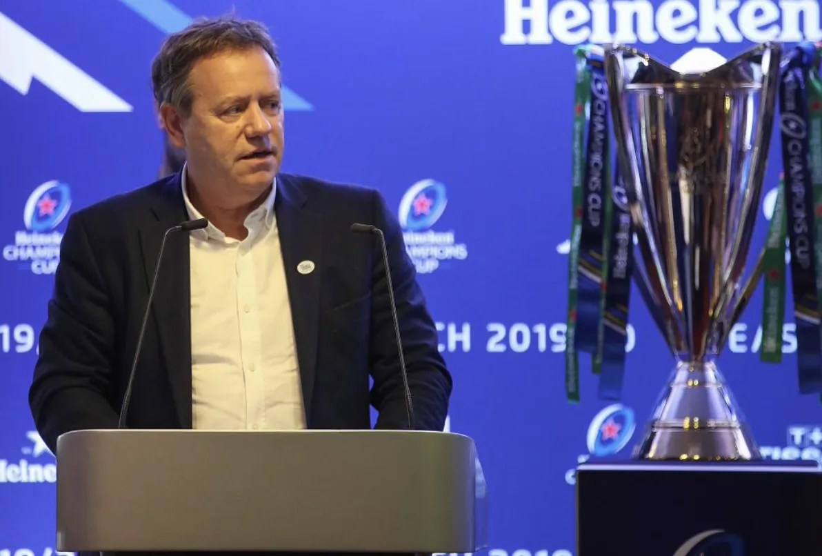 Coupes d'Europe de rugby: Simon Halliday quitte l'EPCR