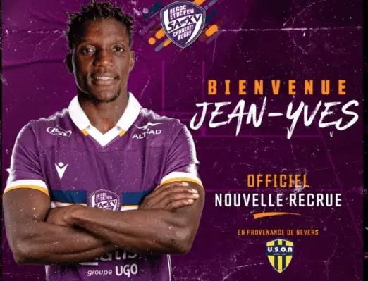 Nationale ( SAXV ) : Signature de Jean-Yves Zébango