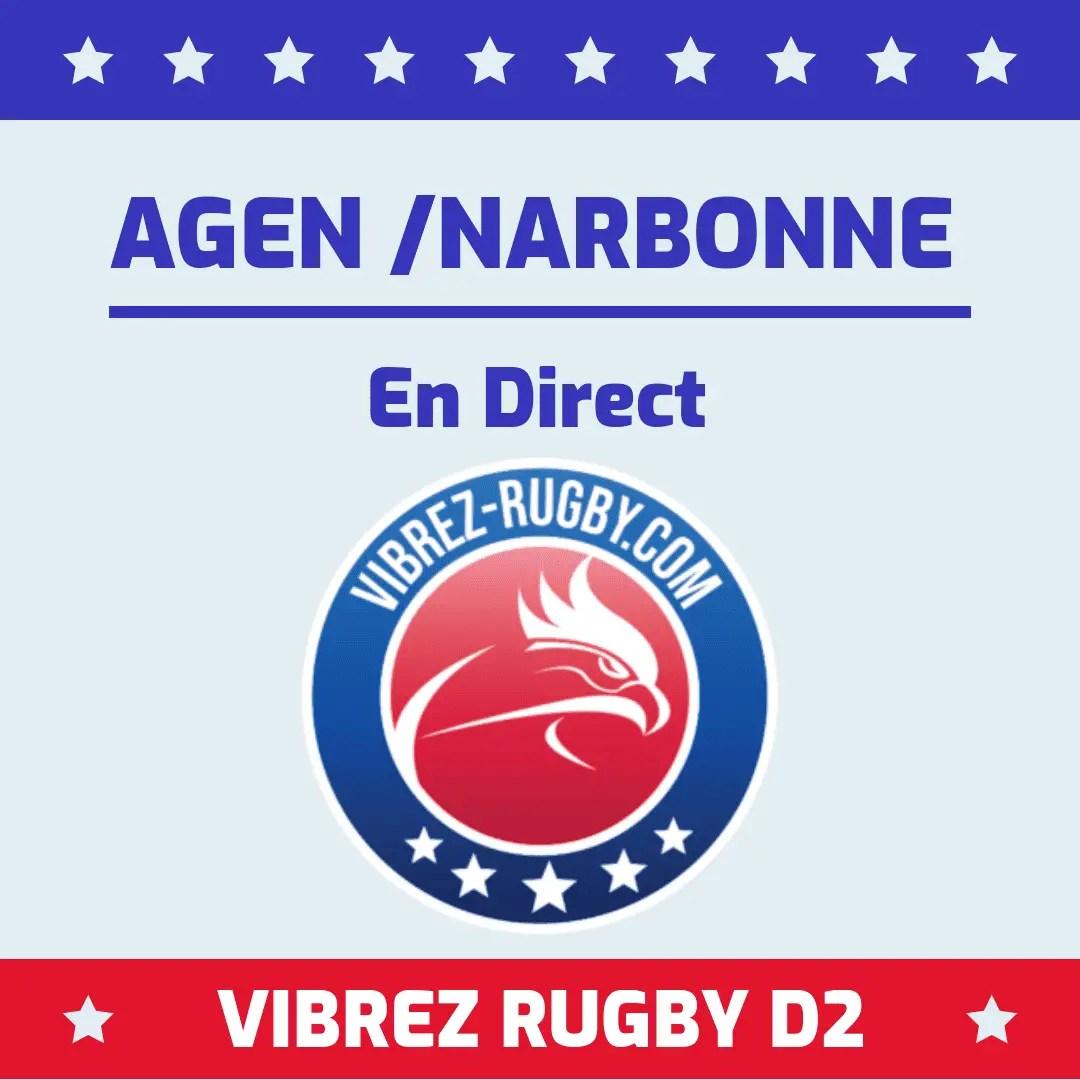 Agen Narbonne en direct