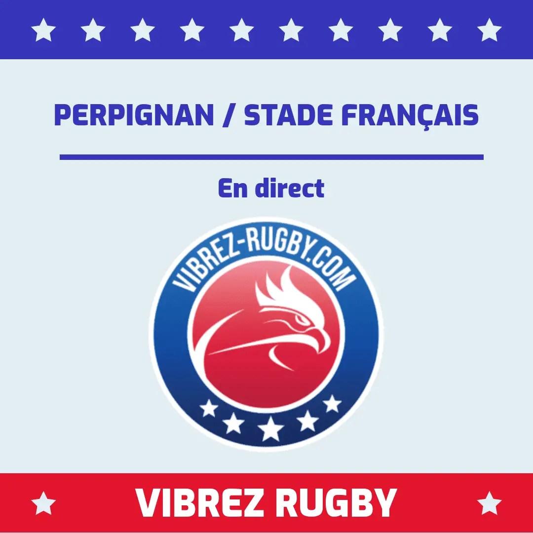 Perpignan Stade Français en direct