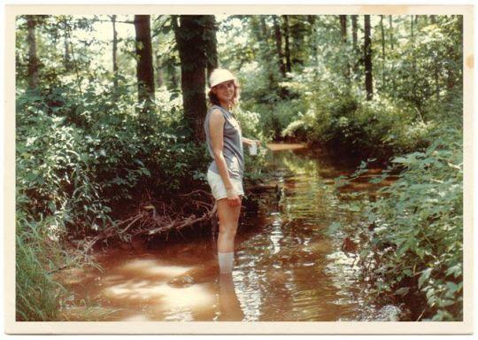 Dolly Freed, en sus años mozos.