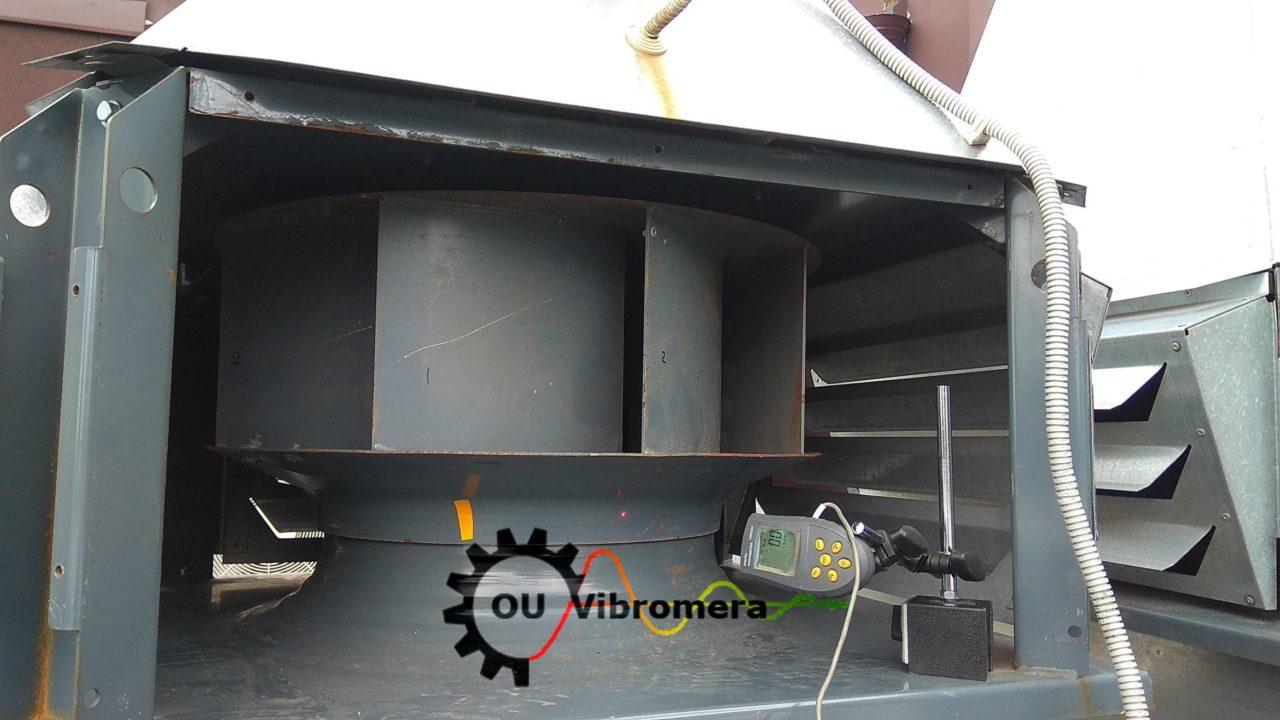 Balancing the exhaust fan.