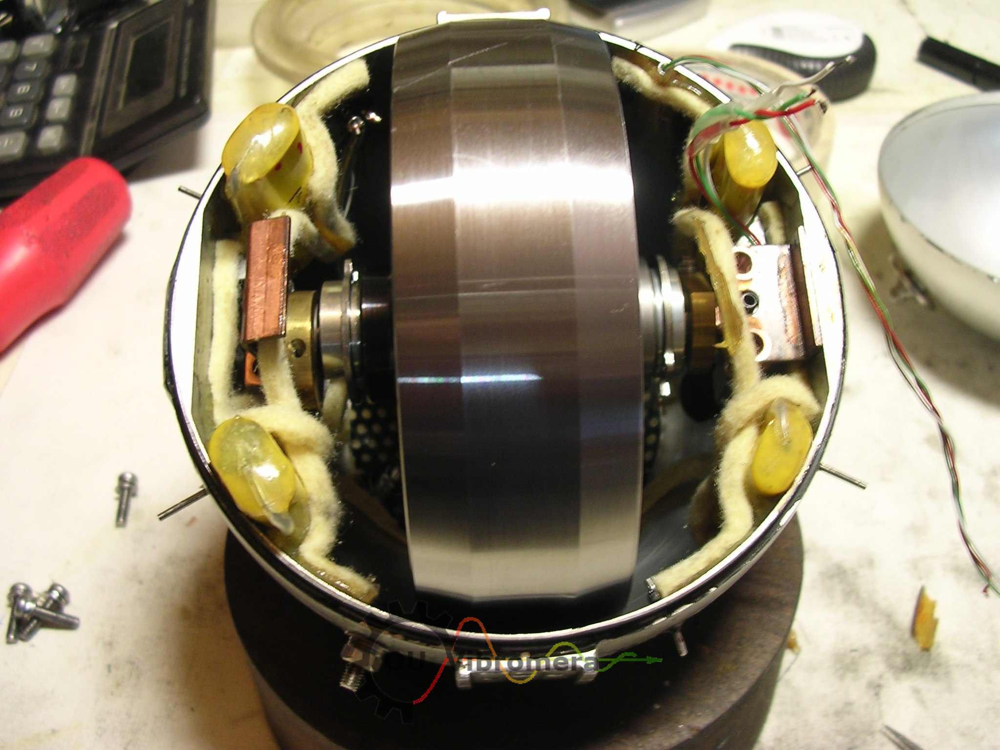 Gyroscopes balancing