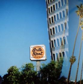 Holga Double Exposure Sunset Boulevard Holga