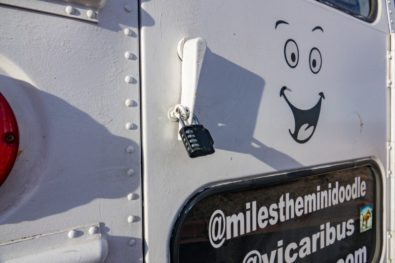 Lock on the Back of the Bus