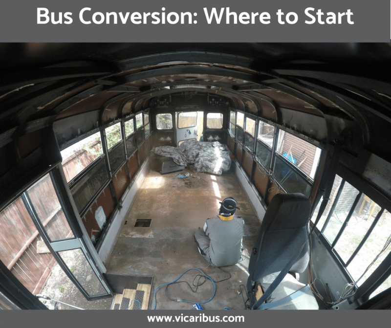 Bus Conversion: Where to Start