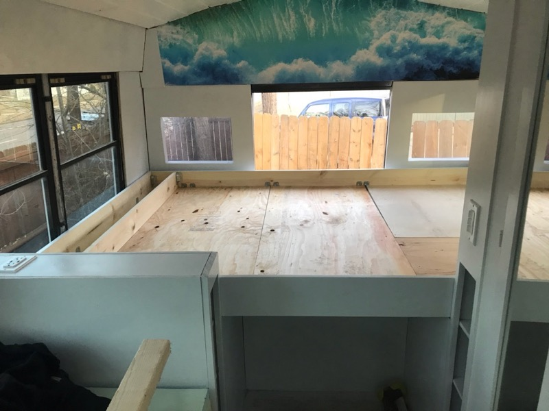 Bed Frame With Plywood
