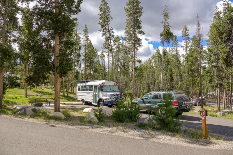 Sockeye Campground, Redfish lakgroundse, Idaho, best camp