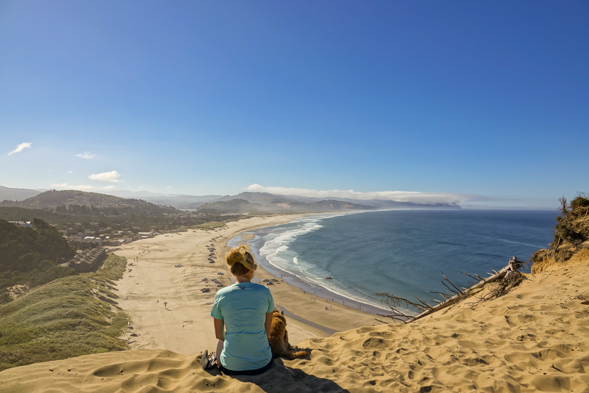 Pacific City from the Dune