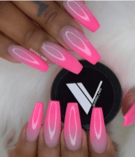 Pink Ombre nail designs for the summer.png