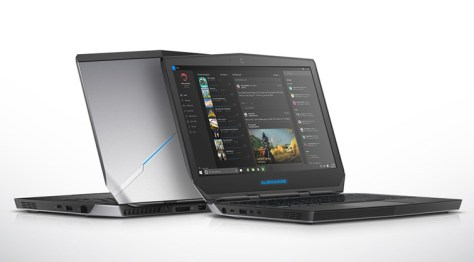 Portable virtual reality with a Dell Visor and an Alienware 13 R3