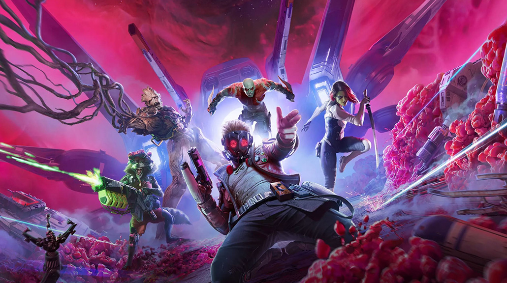 Marvel's Guardians of the Galaxy is nearly here!