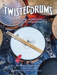 TwistedDrums Front Cover