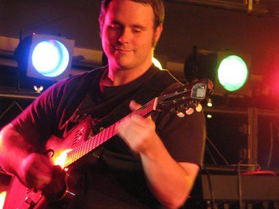 Vic Dillahay at The Cellar in Longmont, Colorado