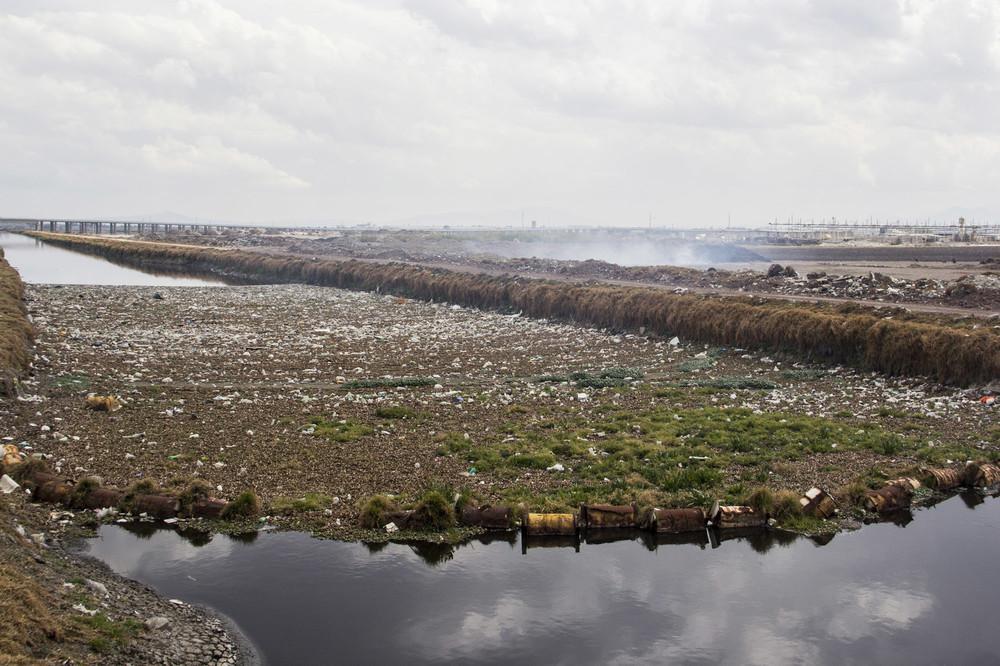 La quema de sembradíos es muy popular alrededor del Río Lerma.