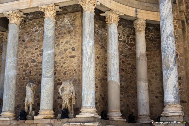 théâtre romain de Merida Estrémadure acheter immobilier en espagne 3