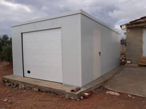 Garaje prefabricado en Valencia
