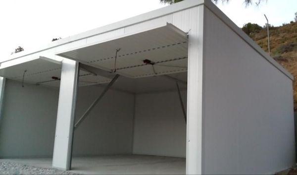 Garajes prefabricados de panel sandwich