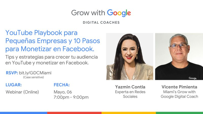 YouTube para Pequeñas Empresas y Monetizar en Facebook