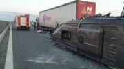 В Румынии микроавтобус с украинцами врезался в грузовик. Число жертв увеличилось: женщина умерла в больнице