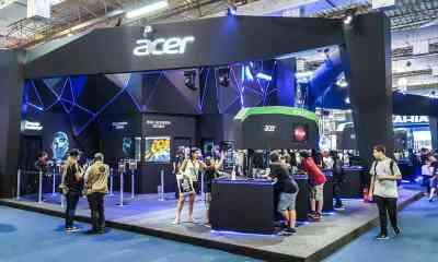 Uma das principais fabricantes de notebooks e PCs do mundo, Acer, terá presença nos cinco dias de evento, com influeciadores e times.
