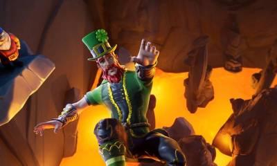 O usuário postou uma imagem da nova versão da skin Sargenta Trevo Verde no Fortnite, só que dessa vez masculina.