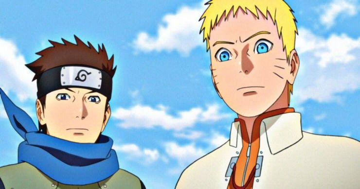 Konohamaru e Naruto