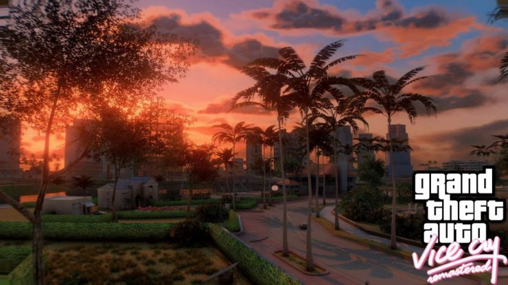 O mod traz o mapa de GTA Vice City na engine de Grand Theft Auto 5.