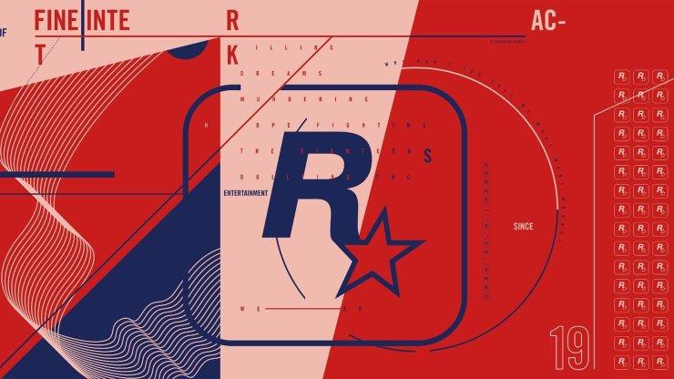 Nova Logo da Rockstar Games.